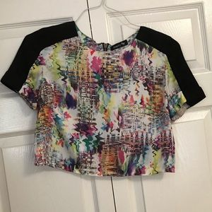 Short blouse size small